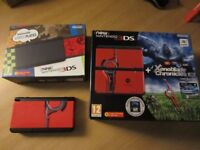 Nintendo NEW 3DS with Xenoblade cover plates