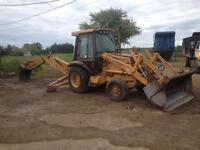 1991 case 580k 4x4 backhoe