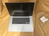 Apple MacBook Pro 15 inch intel i5 8GB ram 128gb SSD