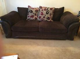 3 Seater Sofa Brown ( PLEASE SEE MY OTHER ADVERT TOO )