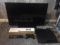 Tv and PS3 bundle