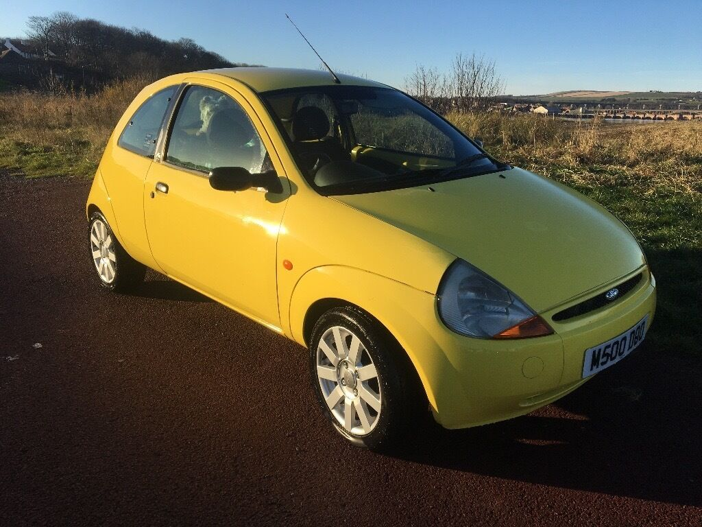 ford ka style 2008 low mileage bright yellow in tweedmouth northumberland gumtree. Black Bedroom Furniture Sets. Home Design Ideas