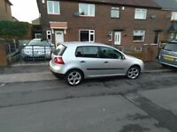 VW GOLF MK5,VERY LOW MILEAGE, CHEAP INSURANCE, PERFECT FOR FIRST DRIVER. ******* MUST SEEE********