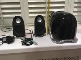 Multimedia Speakers - subwoofer & 2 tweeters