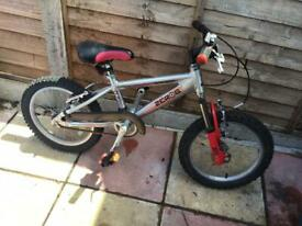 Aluminium Boy or Girls Raleigh Cycle ( age 4-7)