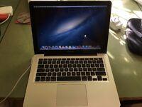 "Apple Macbook Pro 13"" – 750GB hard drive – 8GB Ram – discount for cracked screen"