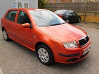Skoda Fabia 1.4 16v Ambiente 5dr -- Automatic with Parking Sensors
