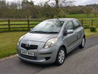 2007 Toyota Yaris 1.3 5dr hatchback new clutch fitted tidy car bargain price