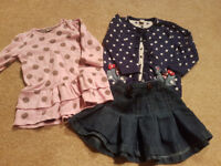 Girls clothes 9 to 12 months