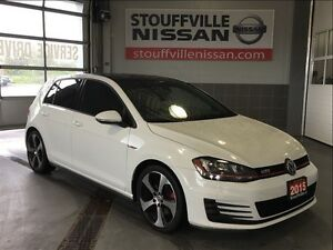 Volkswagen Golf Gti 5-door leather and navi 2015