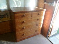 antique victorian chest drawers