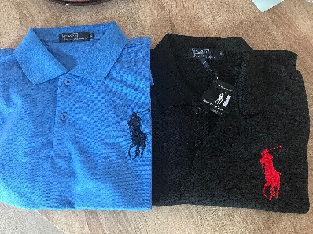 Brand New Ralph Lauren Men Polo Shirts Uk L In Stalham Norfolk