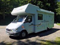 Mercedes Sprinter Motorhome 6 /7 Berth Fixed Bed Campervan VERY LOW MILES! 10k