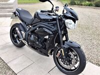 2015 Triumph Speed Triple 94R ABS - 21st Anniversary Limited Edition