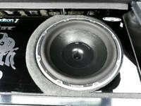 "vibe black death 15"" sub subwoofer competition loud monster bass 7500w power"