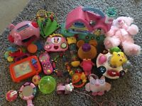 Baby girl toddler toys v-tech Chiccoand more