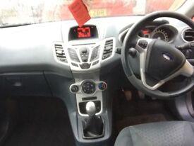 2010 black Ford Fiesta zetec 1.4