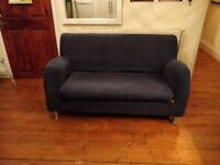 Free 2 seat navy sofa