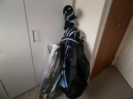 Gents golf clubs some used once Ladies set never used