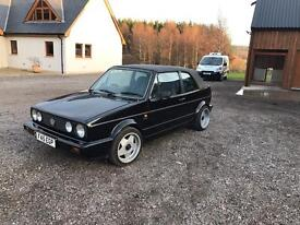 VW GOLF MK1 Karmann Cabriolet 68k miles