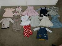 6-9 Baby Girl Clothes Bundle