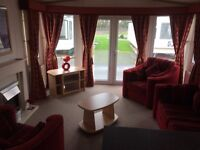 Static Holiday Home For Sale on beautiful North Wales Coast