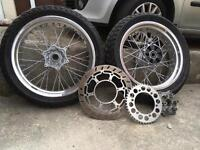 Ktm supermoto wheels behr