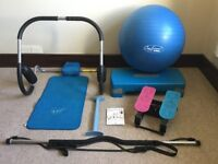 6 pieces of exercise equipment - price is for everything but may split