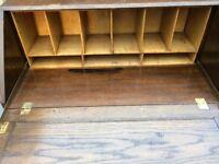 Solid Oak Bureau