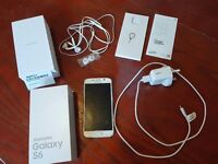 Samsung Galaxy S6 32gb in White Pearl - UNLOCKED