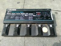 boss me-5 guitar effect pedal