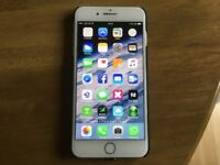 Immaculate Iphone 7plus Silver 128gb