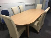 Conference or dining table