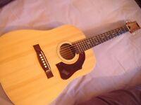 Vintage 60s acoustic guitar