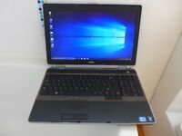 Dell E6520 large laptop, core i5, Win10, 500Gb, may deliver for free