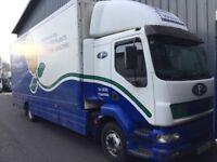 Daf lf55 box body truck