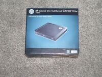 HP EXTERNAL SLIM MULTIFORMAT DVD/CD WRITER 550S