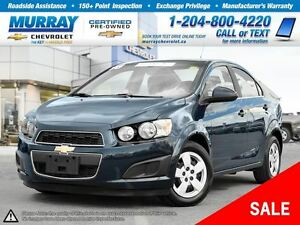 2016 Chevrolet Sonic LT Auto *Heated Seats,, Rear View Camera*