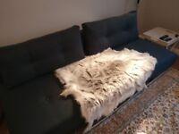Genuine reindeer rug from Scandinavia (approx 110x70cm)
