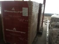 Bricks-Hollow Ceramic Blocks - Imported from Poland - 1x Pallet - 96 Blocks on a Pallet