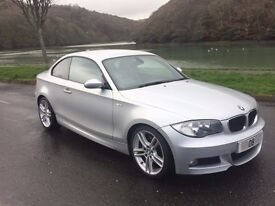 BMW 123d M Sport Coupe Manual