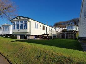 3 bedroom pet friendly caravan at Littlesea Holiday park Weymouth
