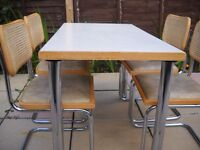 Dining table and four chairs FREE DELIVERY