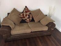 Fabric 3 & 4 seater sofas