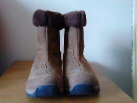 ladies nubuck boots