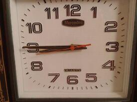 Mercedes Quartz Clock