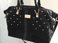 **River Island Brand New Black Quilted Handbag **