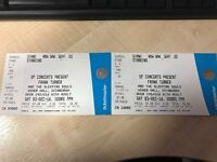 FRANK TURNER - 2X STANDING TICKETS EDINBURGH USHER HALL SAT 3rd DEC