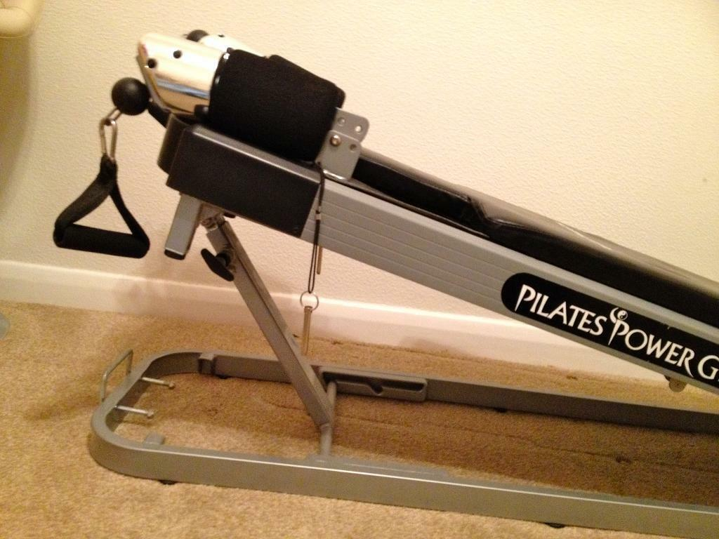 PILATES POWER GYM COMPLETE WITH CD AND INSTRUCTION MANUAL