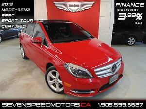 2013 Mercedes-Benz B-Class SPORTS TOURER|PANO|$123 BW|1YR FREE W